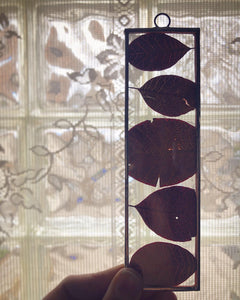 Smoke Bush Leaves - Wall Hanging