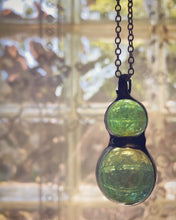 Load image into Gallery viewer, Green Marble Necklace