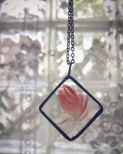 Load image into Gallery viewer, Red Feather Necklace