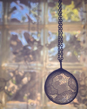 Load image into Gallery viewer, White Lace Necklace