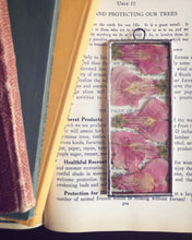 Load image into Gallery viewer, Pink Snapdragons Mini Wall Hanging