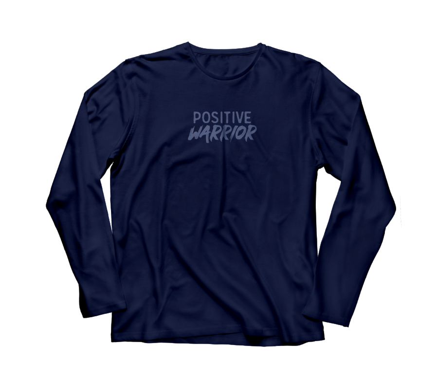 Positive Warrior Dri-Fit long sleeve crew tee (Men's)