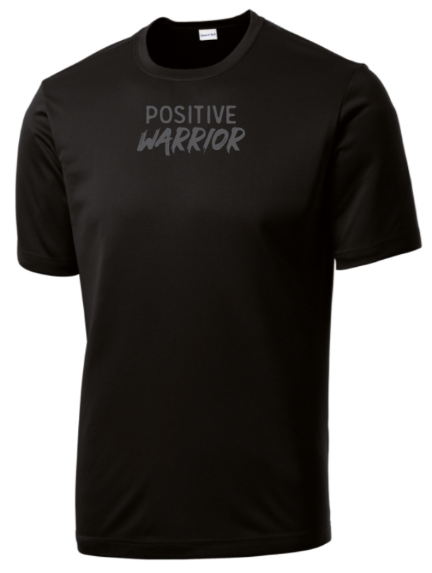 Positive Warrior - Men's Dri-Fit - Black