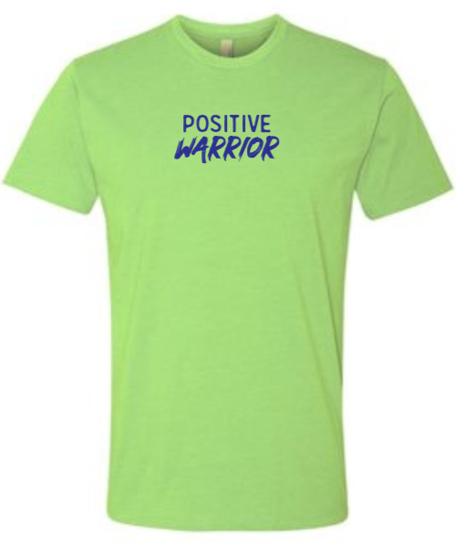 Positive Warrior - Men's / Unisex - Apple Green