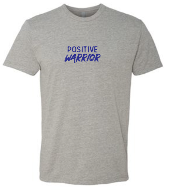 Positive Warrior - Men's / Unisex - Heather Gray