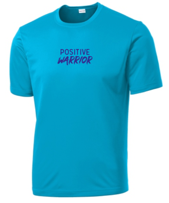 Positive Warrior - Men's Dri-Fit - Atomic Blue
