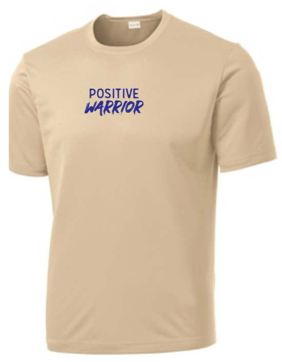 Positive Warrior - Men's Dri-Fit - Sand