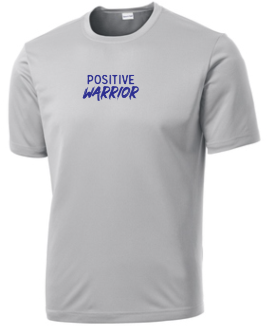 Positive Warrior - Men's Dri-Fit - Silver