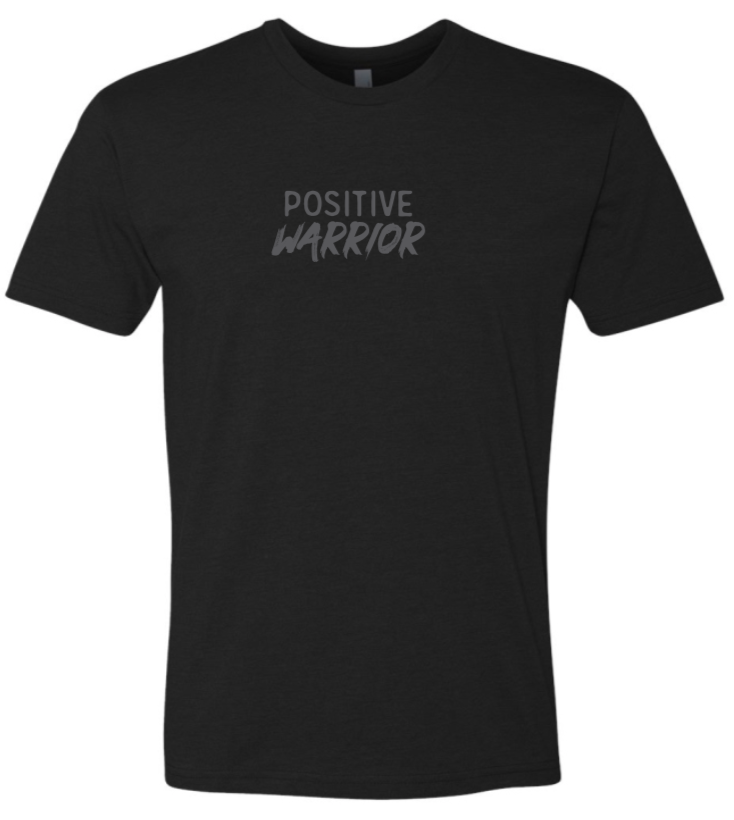 Positive Warrior - Men's / Unisex - Black