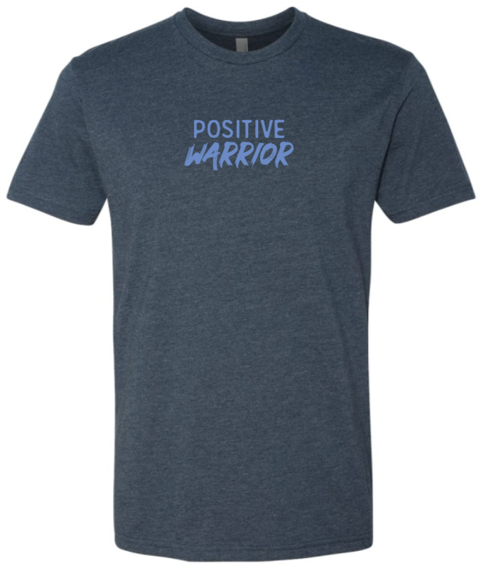 Positive Warrior - Men's / Unisex - Midnight Navy