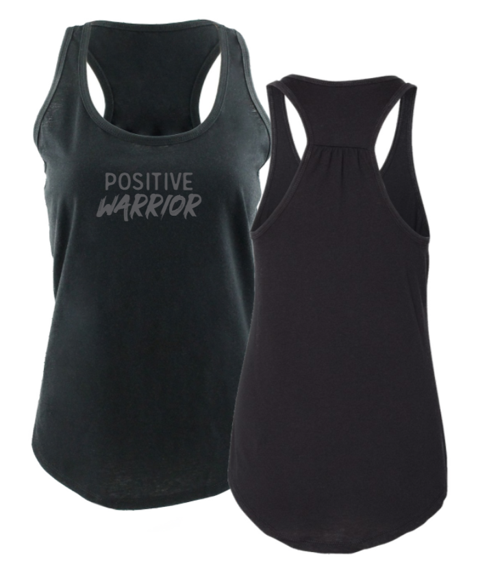 Positive Warrior - Women's Tank - Black