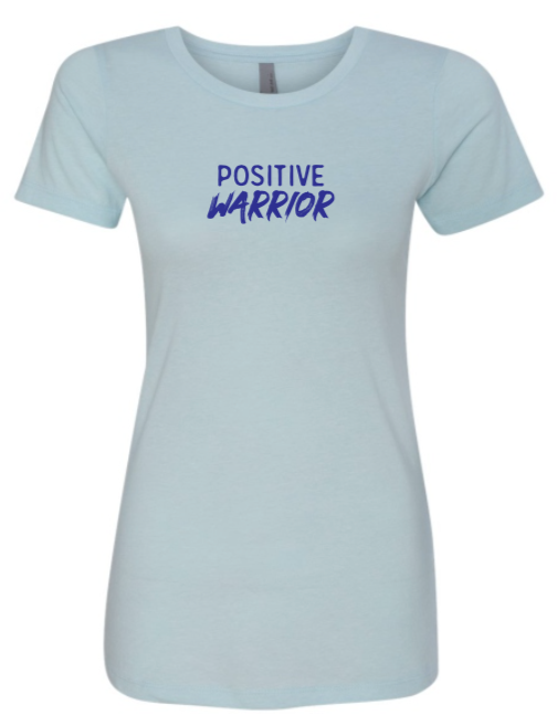 Positive Warrior - Women's - Ice Blue
