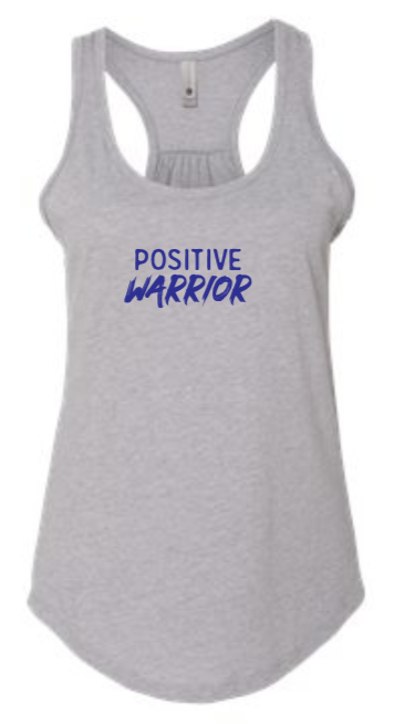 Positive Warrior - Women's Tank - Heather Gray
