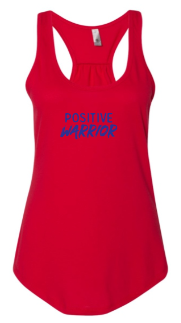 Positive Warrior - Women's Tank - Red