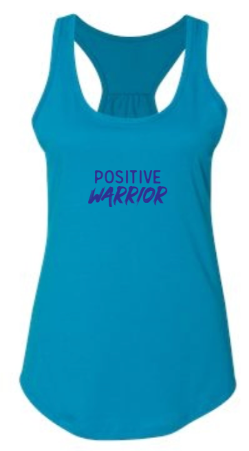 Positive Warrior - Women's Tank - Turquoise