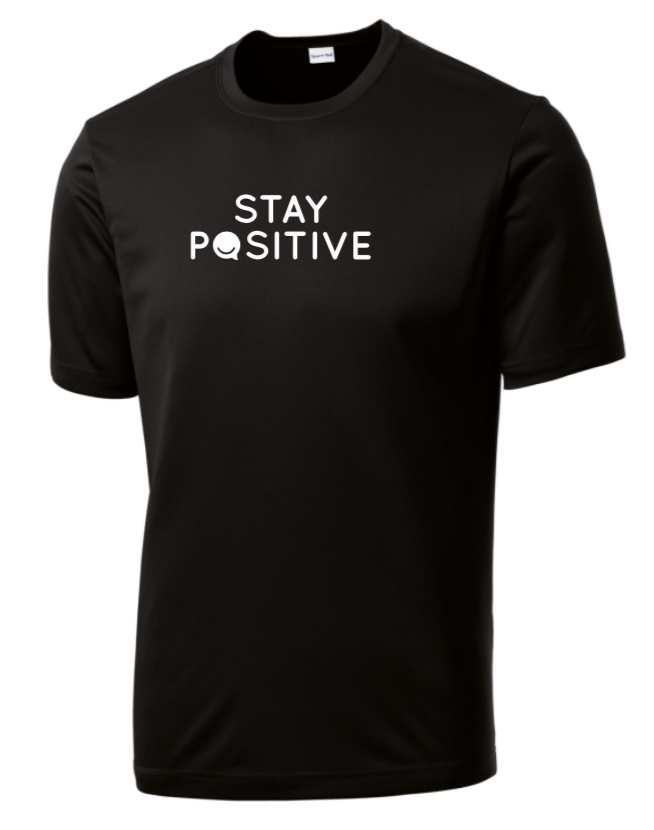 Stay Positive - Men's Dri-Fit - Black