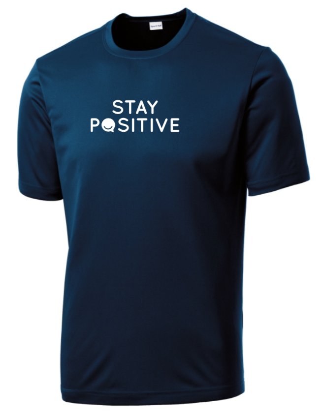 Stay Positive - Men's Dri-Fit - Midnight Navy