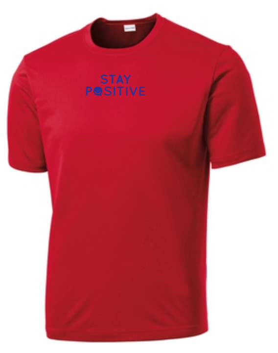 Stay Positive - Men's Dri-Fit - Red