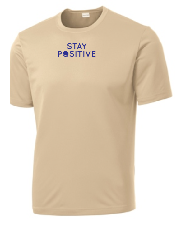 Stay Positive - Men's Dri-Fit - Sand