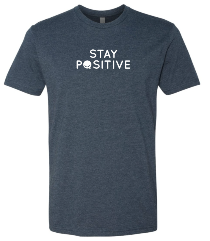 Stay Positive - Men's / Unisex - Midnight Navy