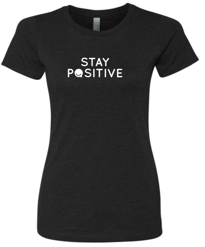 Stay Positive - Women's - Black