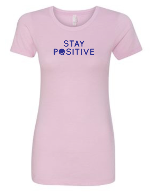 Stay Positive - Women's - Lilac