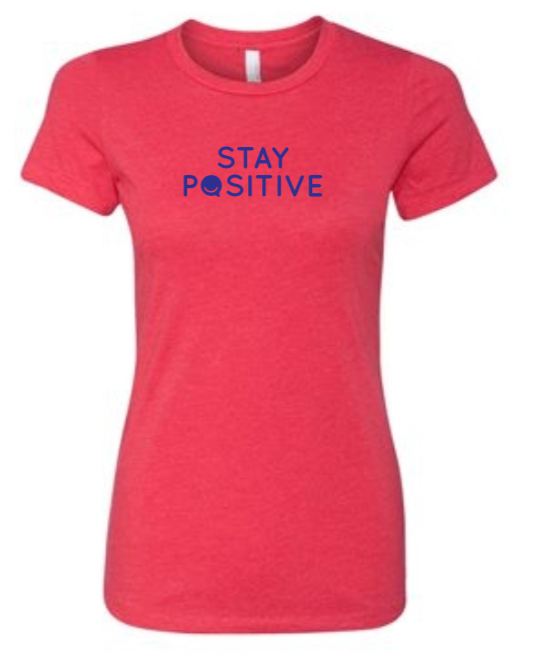 Stay Positive - Women's - Red
