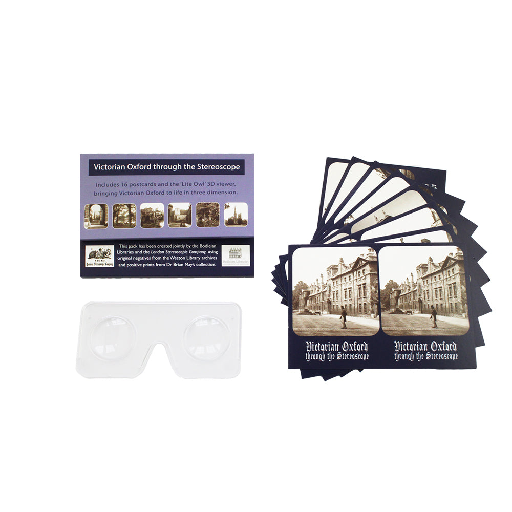 Victorian Oxford 3D Postcard Pack