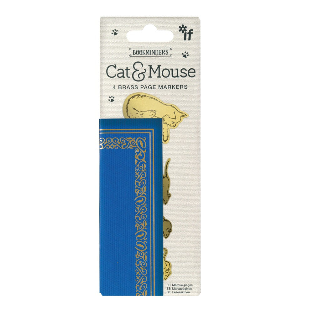 Cat and Mouse Page Markers