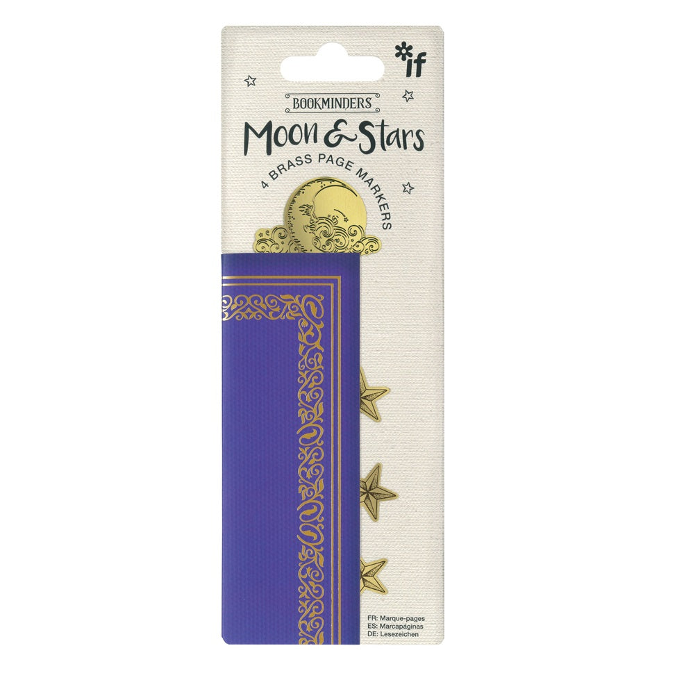 Moon and Stars Page Markers