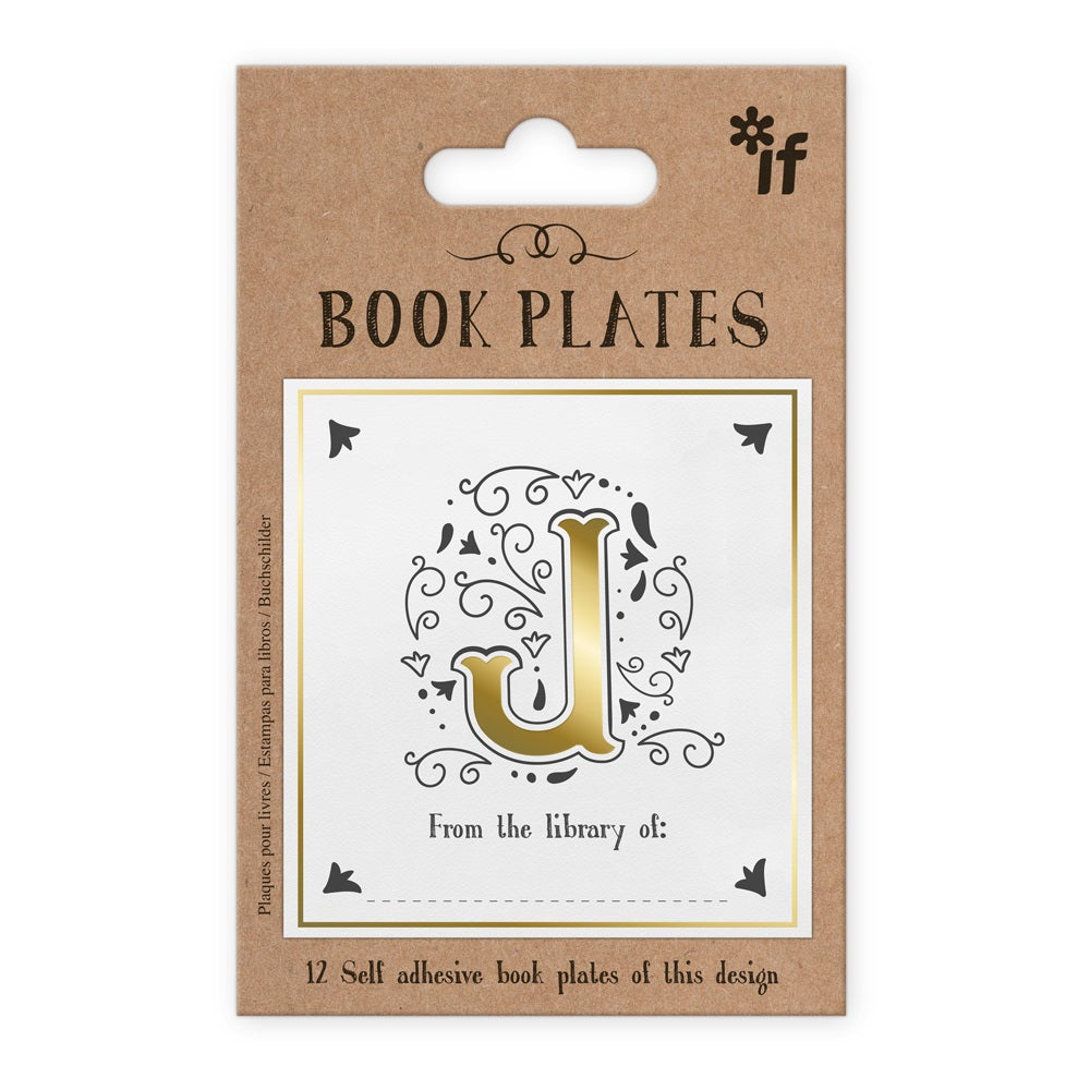 Letter Book Plates