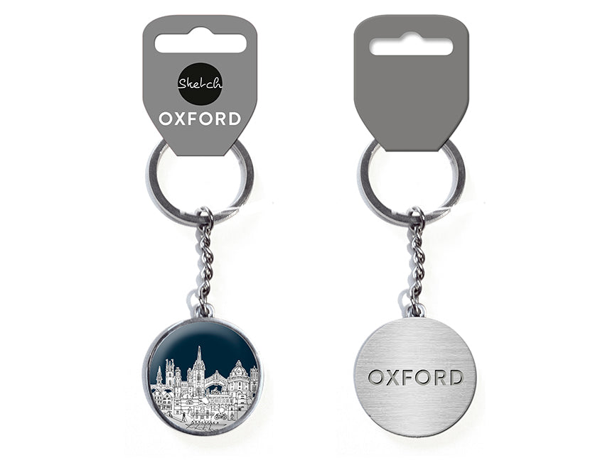 Oxford Sketch Keyring