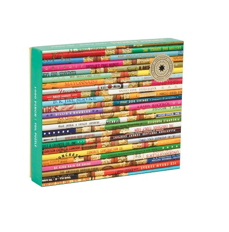 Vintage Pencils 1000 piece Jigsaw Puzzle