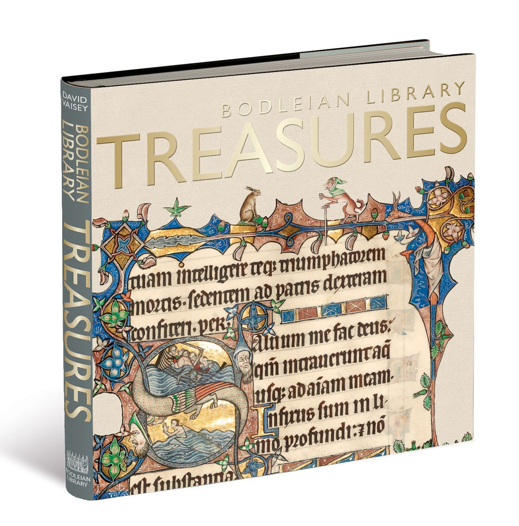 Bodleian Library Treasures (Hardback)
