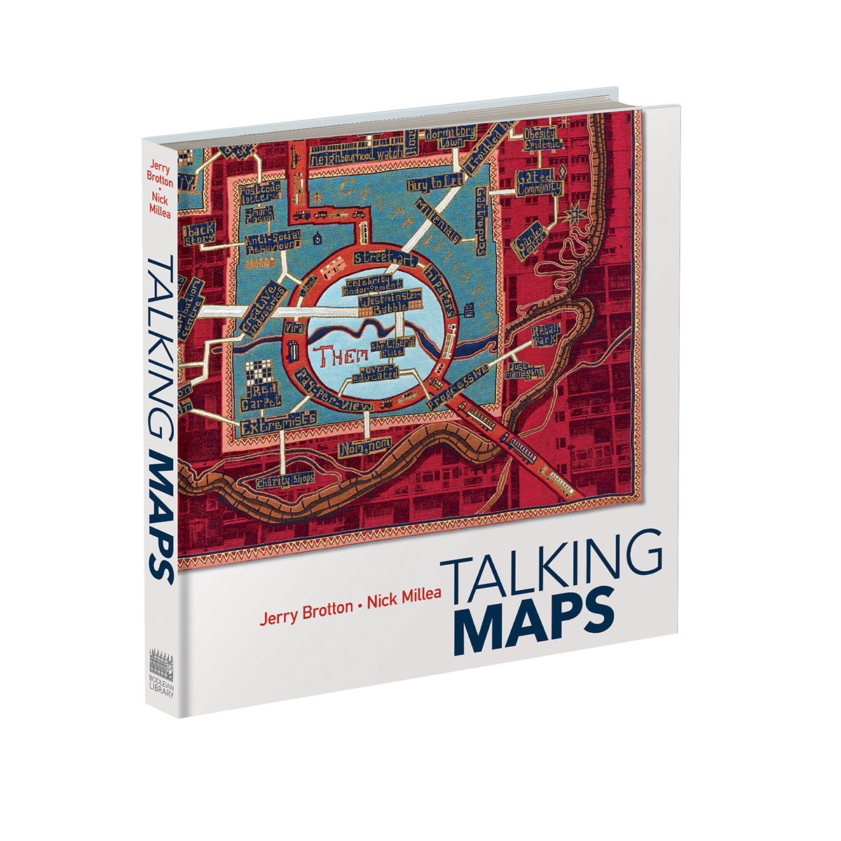 Talkiing Map in the Bodleian Shop