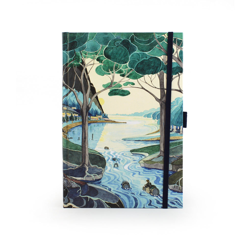 Tolkien Raft-elves A5 Journal