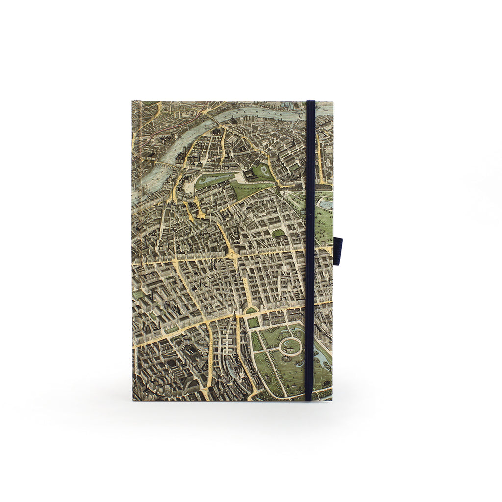 London Map A5 Journal