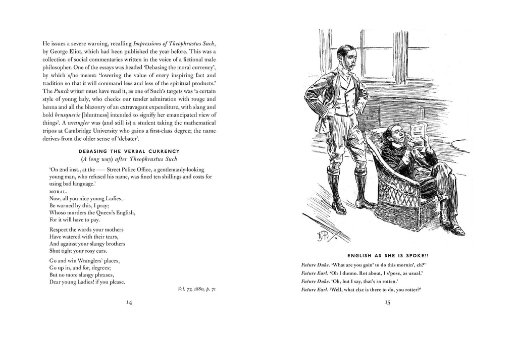 That's the Ticket for Soup! Victorian Views on Pronunciation as Told in the Pages of 'Punch'