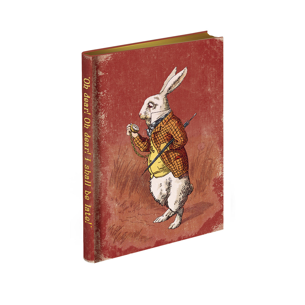 Alice's Adventures in Wonderland Journal - 'Too Late,' said the Rabbit