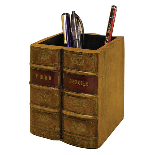 Book Pencil Pot