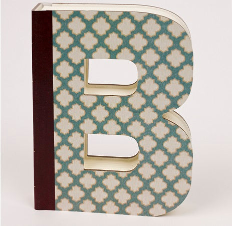 Alphabooks - Letter Shaped Notebooks