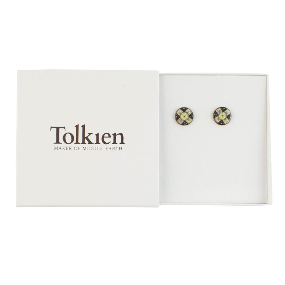 Device for Lúthien Tinúviel (Black) Ceramic Stud Earrings