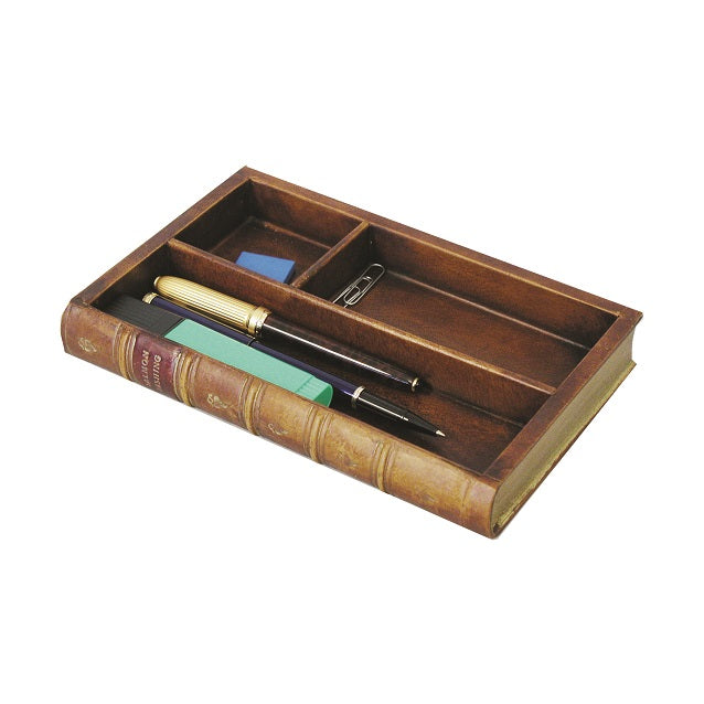 Book Shaped Desk Organiser