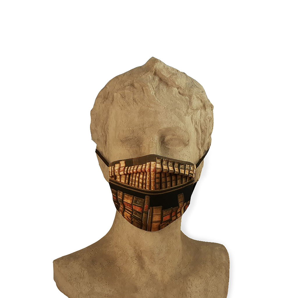 Face Covering - Bookshelves