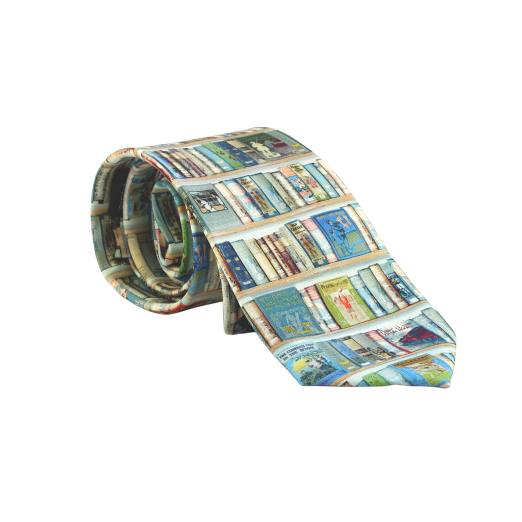 Hobbies Silk Tie