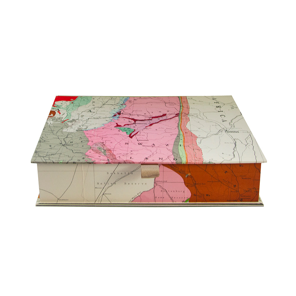 A4 Old Map Boxfile