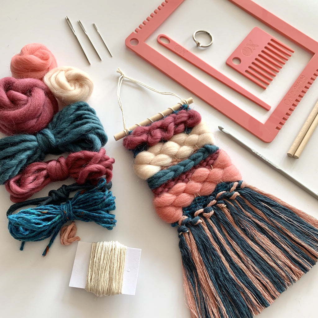 Introduction to Weaving - Complete Rainbow Kit