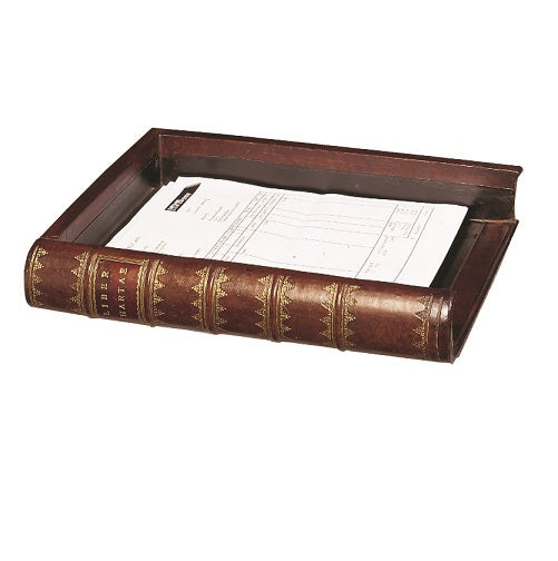 Book Shaped Filing Tray
