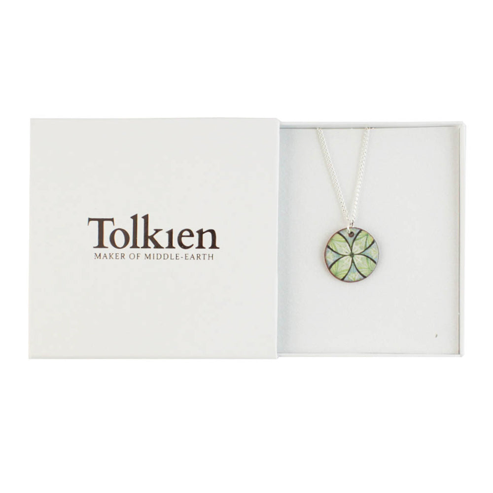 Device for Lúthien Tinúviel (Green) Ceramic Pendant