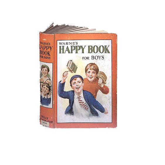 Happy Book for Boys Greetings Card